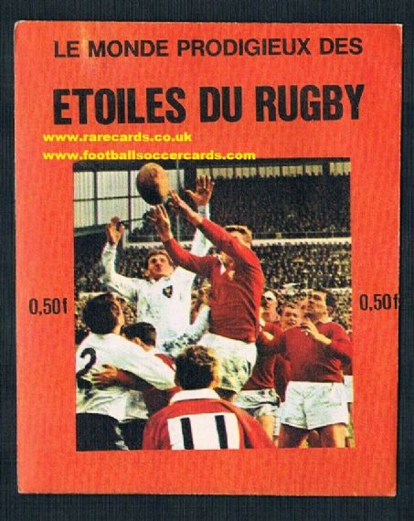 1971 sealed FKS rugby Wales pack
